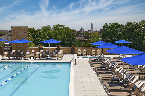 The Pool Again - Hilton Living Well
